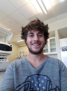 Lab member - Brad Broyles