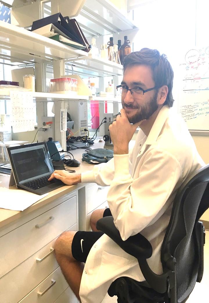 Lab member - Dan Dudman